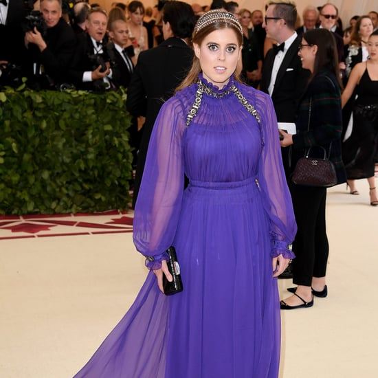 Princess Beatrice Purple Dress at the 2018 Met Gala