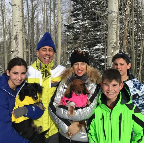 Jerry Seinfeld Family Holiday Card 2016