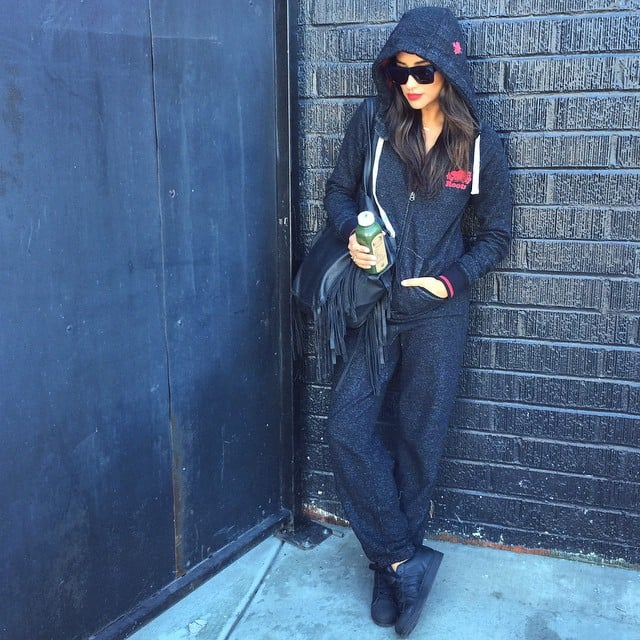Only Shay can make a onesie look this good.