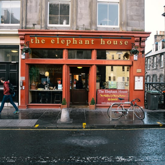 Elephant House Cafe in Edinburgh, Scotland