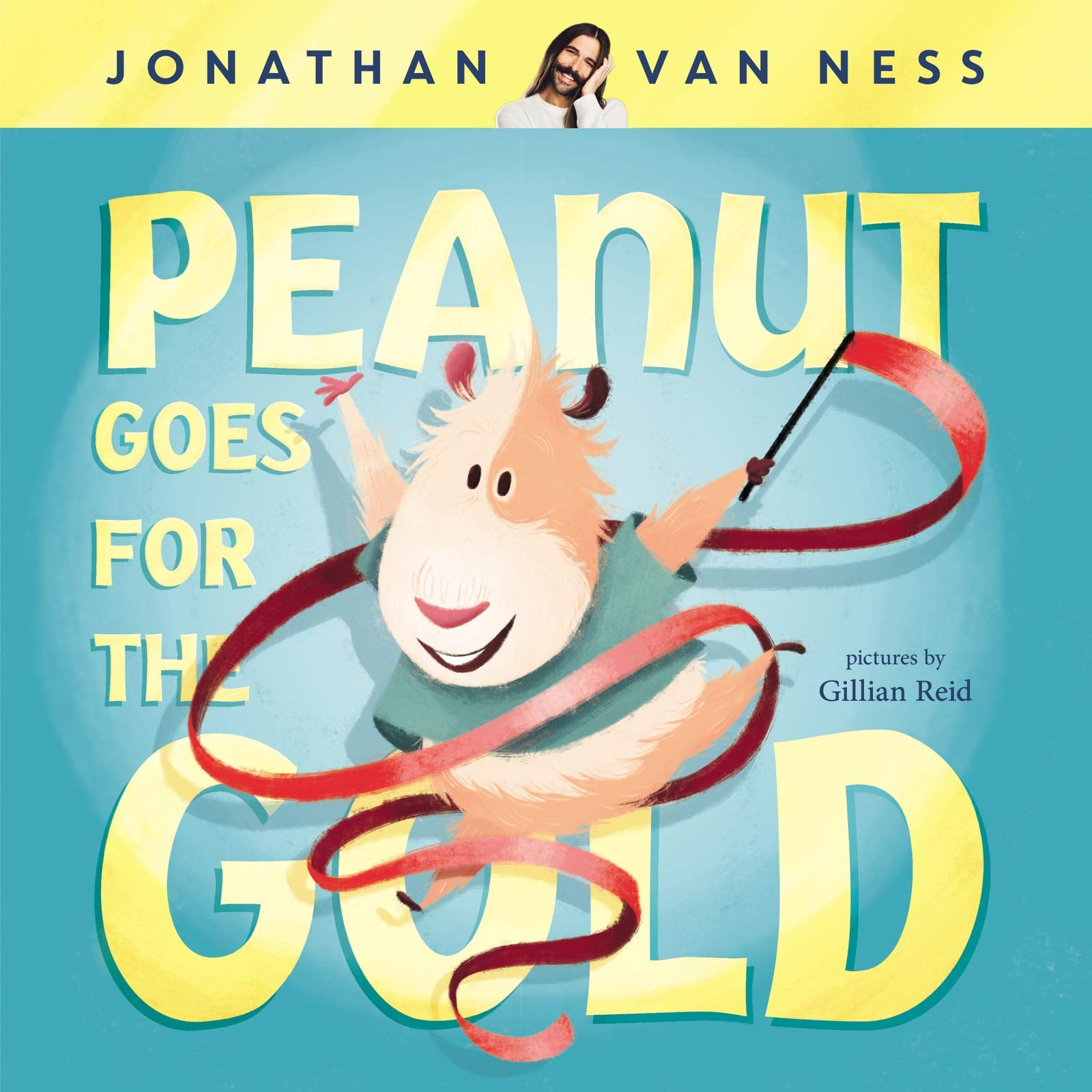 "Jonathan Van Ness's Book About a Nonbinary Guinea Pig Encourages Kids to ""Love Themselves"""