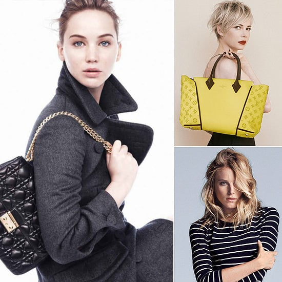 Star Power! Jennifer Lawrence, Greta Gerwig, and More Front Fall Campaigns