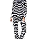 Rikilio 2 Piece Classic Sleepwear Set