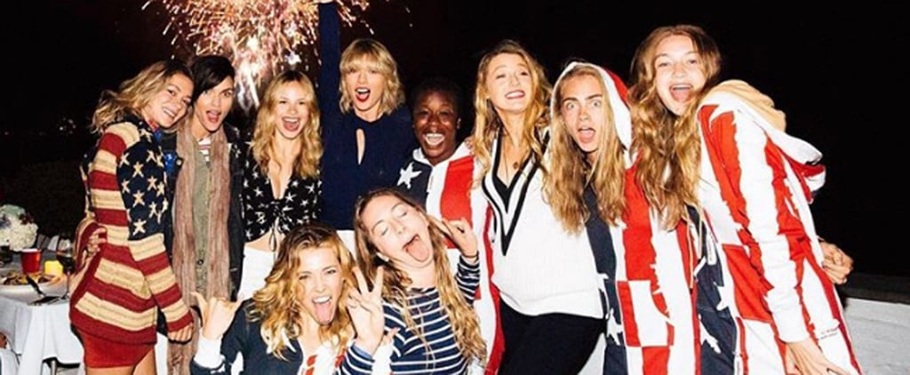 When It Comes to Fourth of July Parties, Taylor Swift Is a Firework