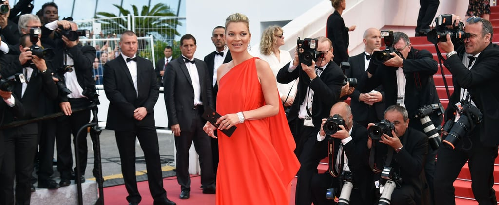 Just When You Thought You'd Seen All the Cannes Glamour, Kate Moss Shows Up