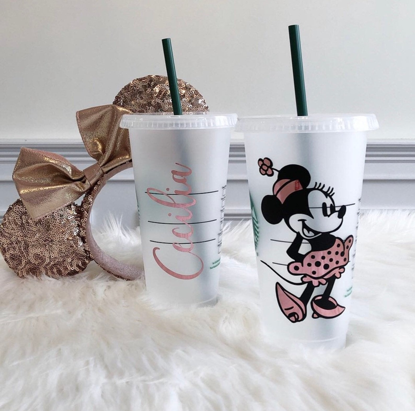 Personalized Disney Iced Coffee Cups From Etsy | POPSUGAR