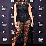 Ashley Graham at the Melbourne Fashion Festival in March