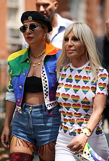 """See Versace and Lady Gaga's """"Born This Way"""" Pride Collection"""