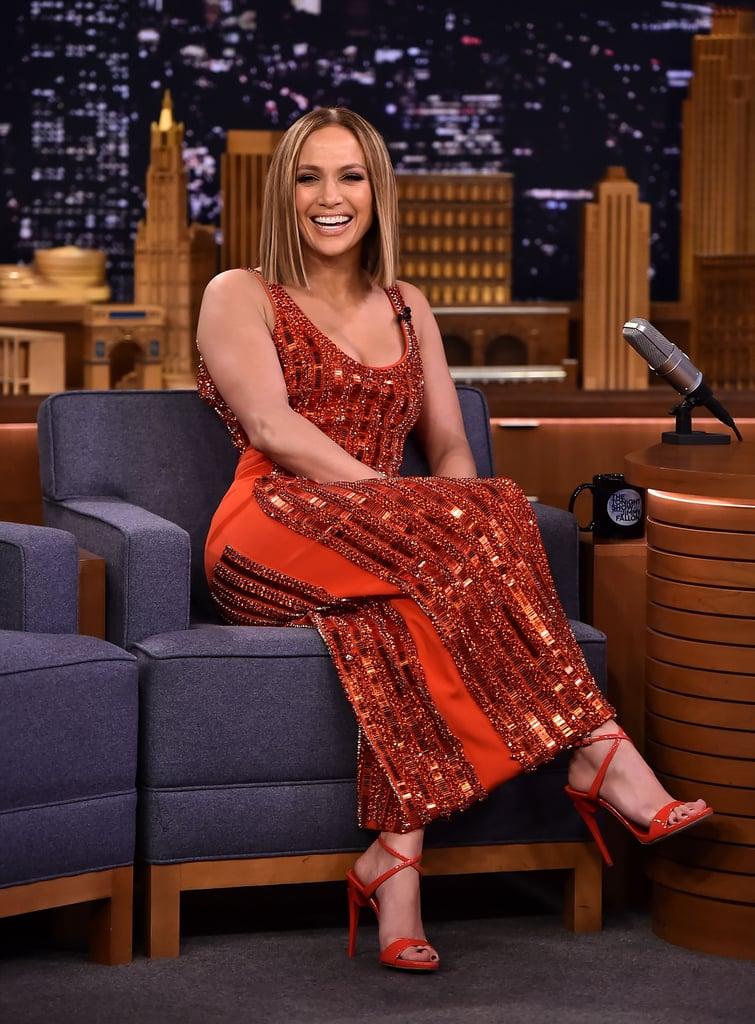 Jennifer Lopez Blunt Bob in 2018
