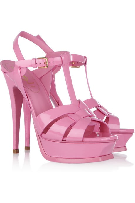 Yves Saint Laurent Pink Tribute Sandals ($795)