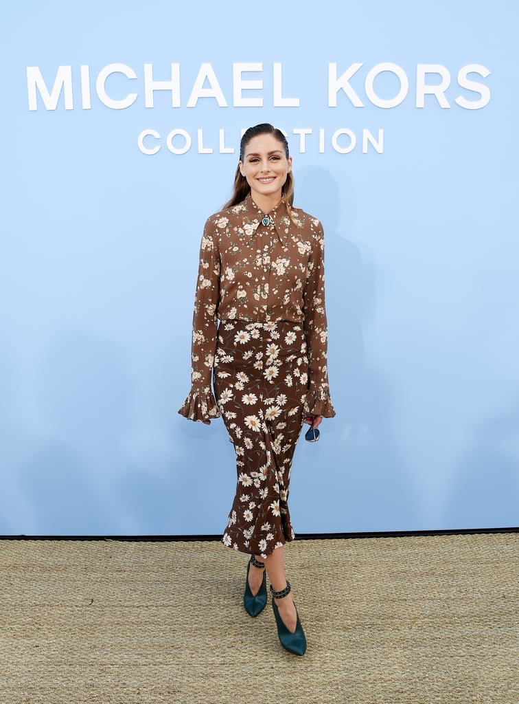 Olivia Palermo at the Michael Kors Collection New York Fashion Week Show