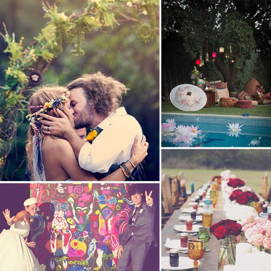 Casa is offering up dreamy bohemian inspiration for hippie-chic brides or grooms.