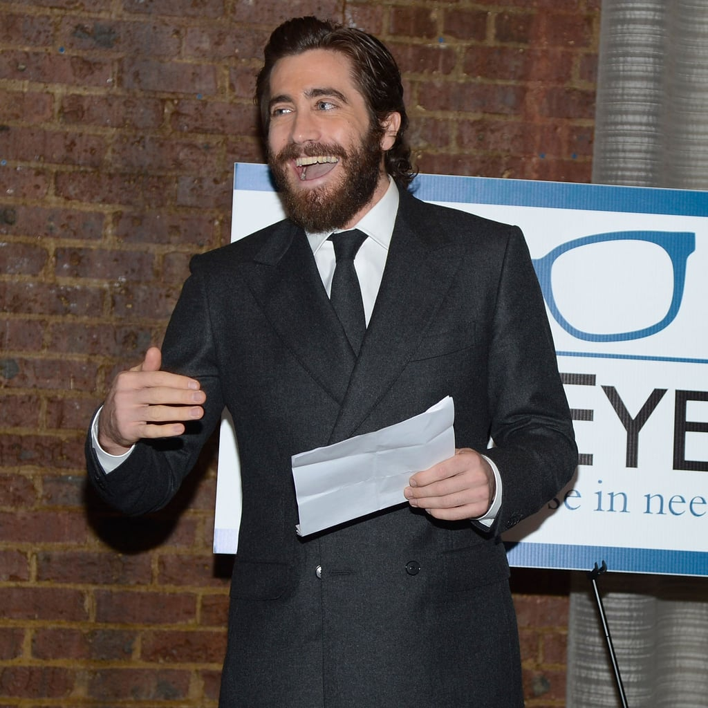 Jake Gyllenhaal New Eyes For Needy Dinner in NYC | Pictures