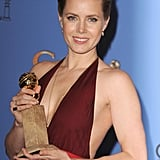 Amy Adams Takes the Plunge and Wins Gold