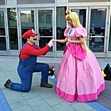 Princess Peach and Mario are meant to be.
