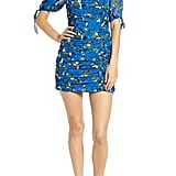 Moon River Floral Ruched Minidress