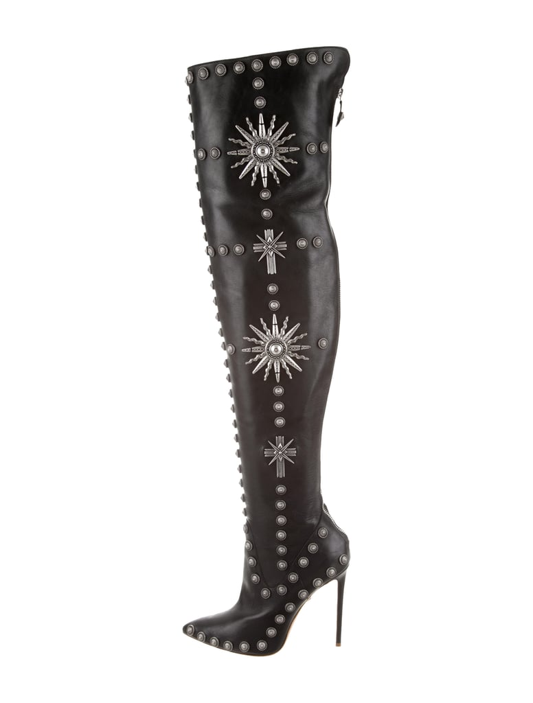 f319b1d1a64 Fausto Puglisi Studded Over-the-Knee Boots