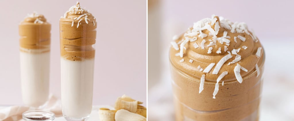 Banana Coconut Latte With Whipped Coffee Recipe With Photos