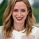 Emily Blunt attended the photocall for Sicario in 2015.