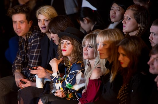 Front Row Photo of House of Holland Show at London Fashion Week