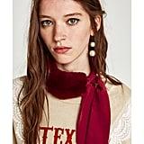 Zara Shawl With Textured Detail