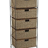 Household Essentials Seagrass Storage Chest