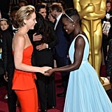 And Held Hands on the Red Carpet