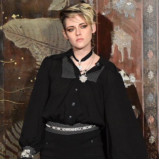 Kristen Stewart's Supershort Chanel Romper and Tights Photos