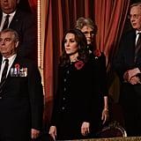 Kate Middleton Velvet Catherine Walker Dress
