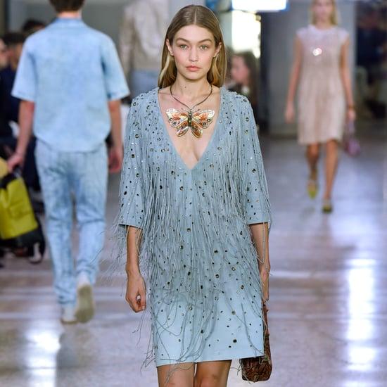 Gigi Hadid at Fashion Week Spring 2018