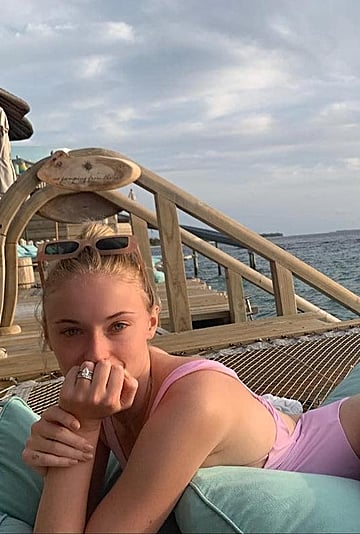 Sophie Turner Swimsuits on Honeymoon With Joe Jonas