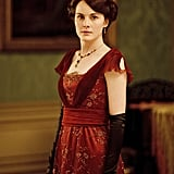 Lady Mary acquires an electric curling iron during season two. The newfangled invention had no heat controls, but it was much safer than previous versions, whose rods had to be heated in a fire.  Source: ITV