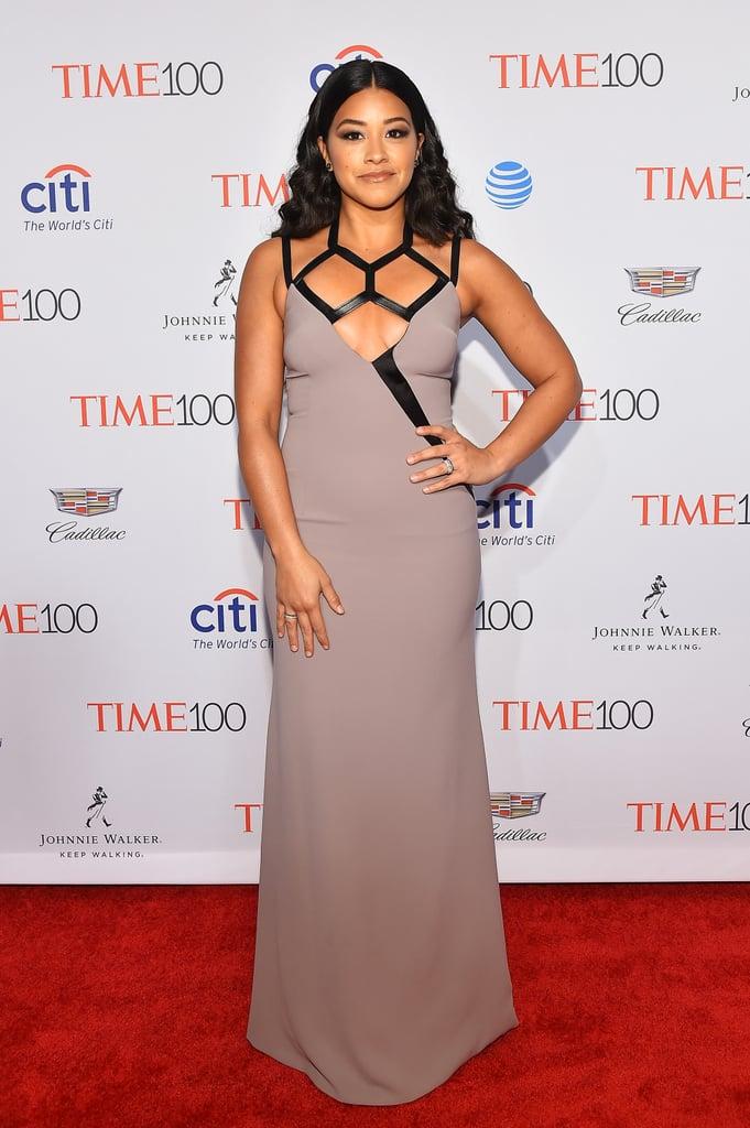 Gina Rodriguez's Dress at the Time 100 Gala 2016