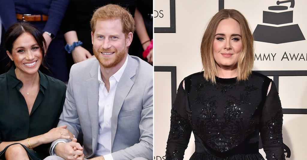 Meghan Markle, Prince Harry, Adele at Hubb Community Kitchen