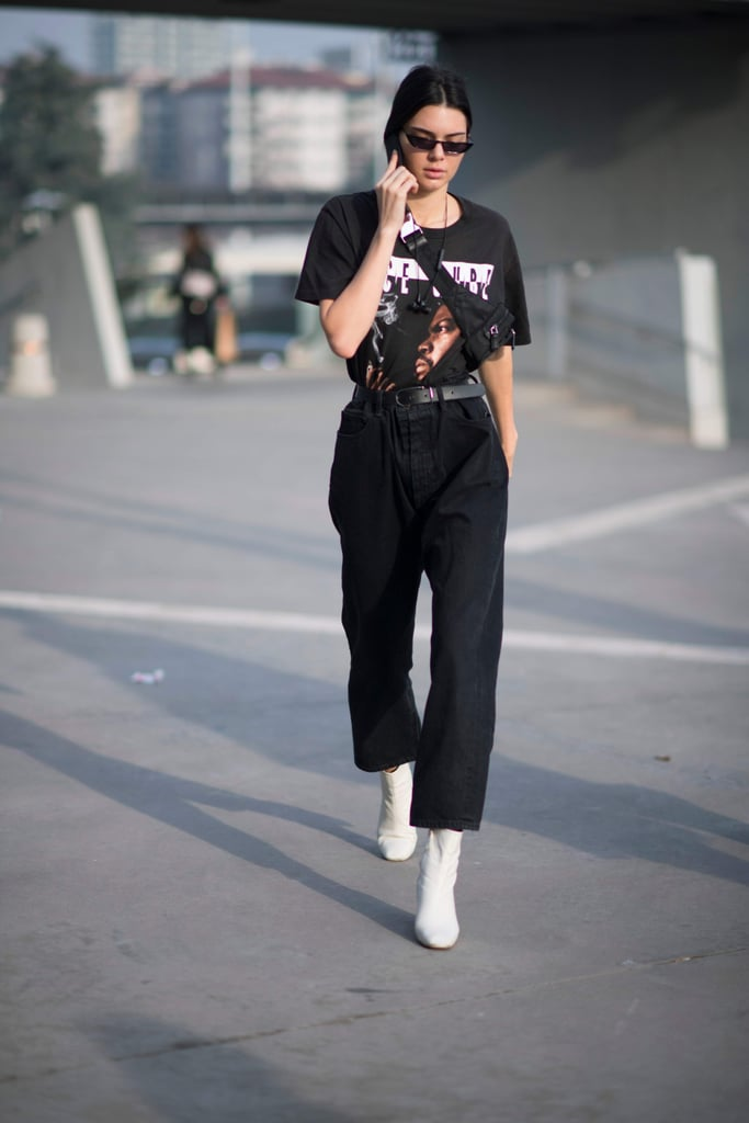 Kendall Jenner '80s Trend Outfits