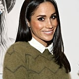 Meghan Markle's Straight Onyx Hair, 2014