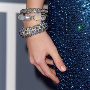Celebrities' Manicures at the 2010 Grammy Awards
