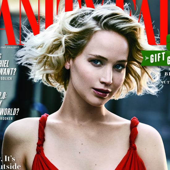 Jennifer Lawrence on Vanity Fair December Issue 2016