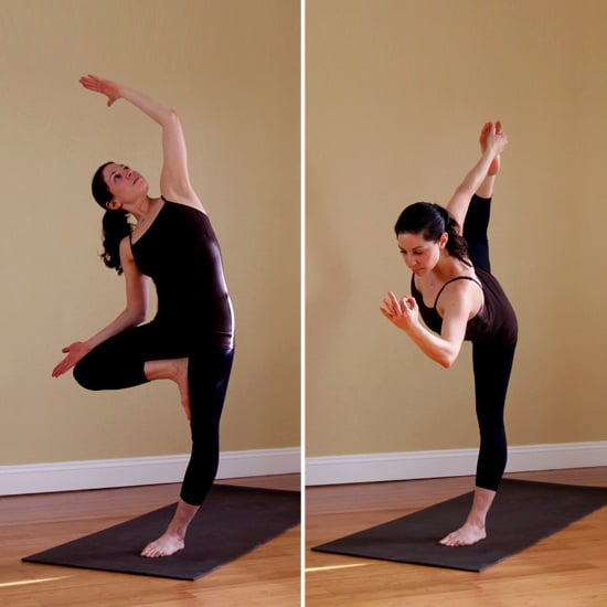 Which Of These Two Balancing Poses Is Your Favorite