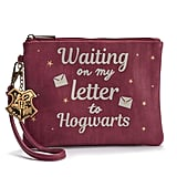"""Waiting on My Letter to Hogwarts"" Graphic Wristlet"