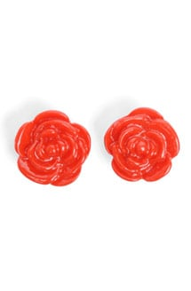 Glitterati: Rose Earrings