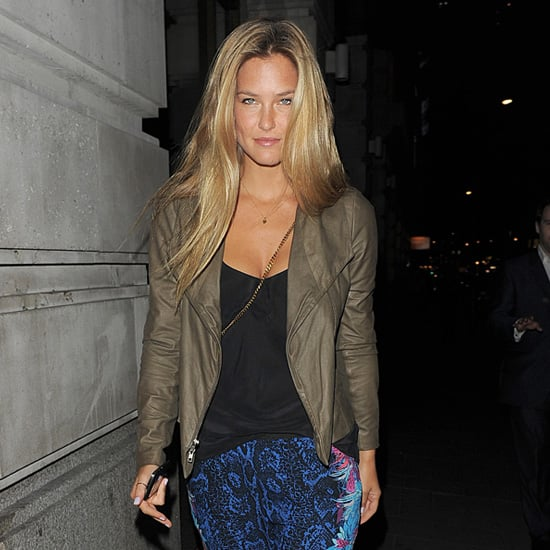 Bar Refaeli Wearing Floral Pants