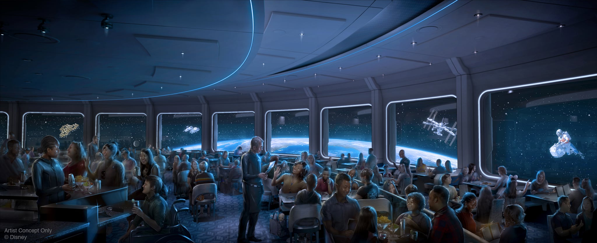 "Epcot's Space-Themed Restaurant Is Opening Soon, and You Have to Be ""Shot Into Orbit"" to Get There"