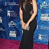 Jordin Sparks smiled wide at the Essence Black Women in Music party.