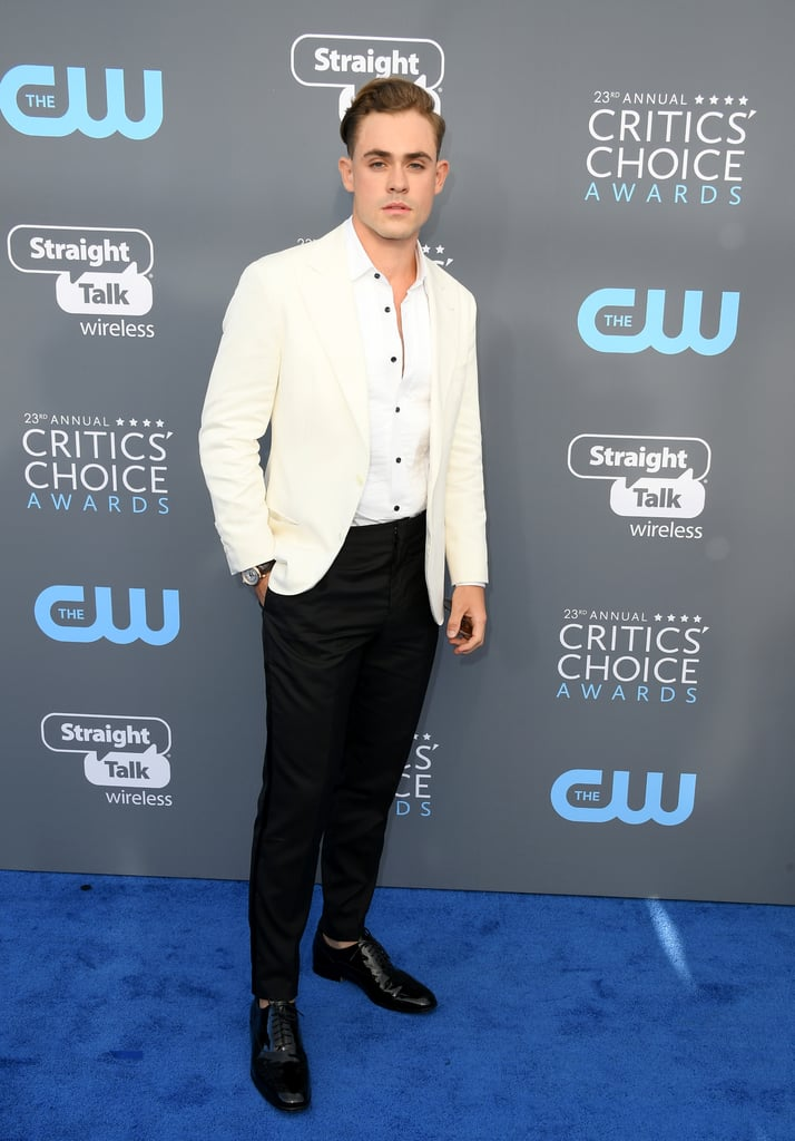 Dacre Montgomery at 2018 Critics' Choice Awards