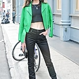 Jacquelyn Jablonski at Acne Studio's launch party for Bruce of Los Angeles Rodeo in New York.  Source: Neil Rasmus/BFAnyc.com