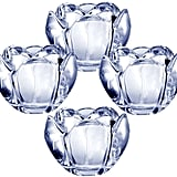 Romantic Bloom Glass Votives ($30 set of 4)