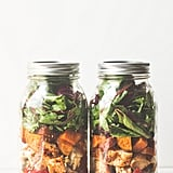 Chicken Fajita Mason Jar Salad