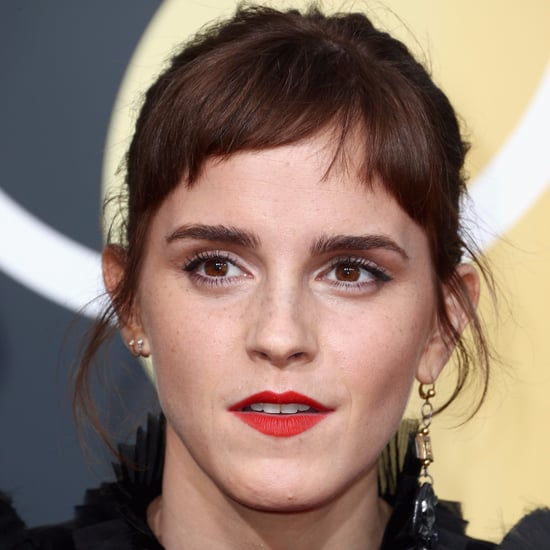 Emma Watson Bangs at the 2018 Golden Globes