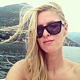 Nicky Hilton soaked up the sun. Source: Instagram user nickyhilton